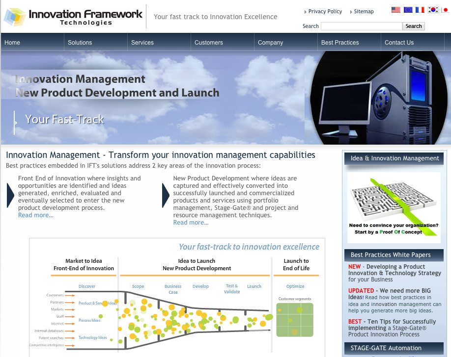 Qmarkets und innovation framework technologies formieren for Innovation consulting firms nyc